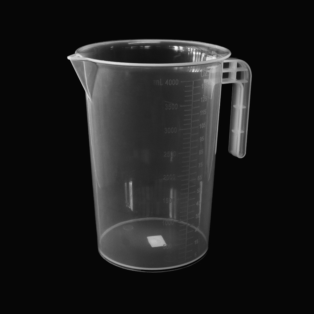 Plastic Measuring Jug 4000 ml.