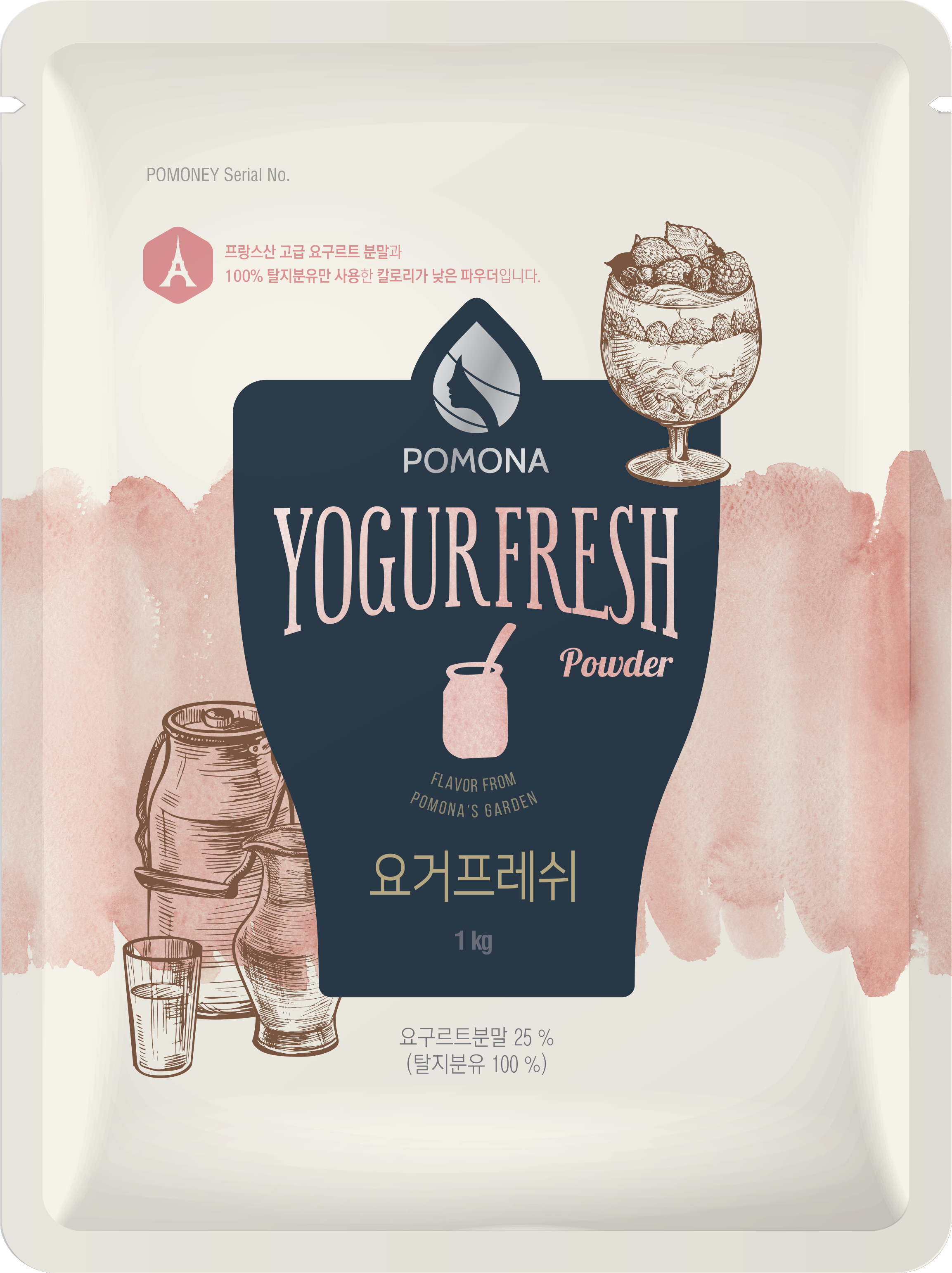 Pomona Yogurt Beverage Powder (Yogurt Fresh)