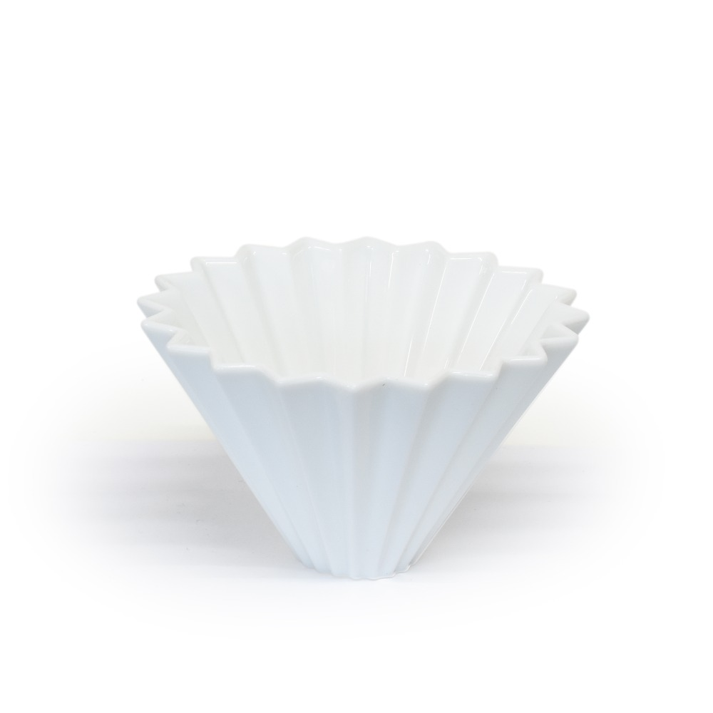Origami Ceramic Dripper Size M (White)
