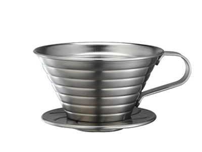 Tiamo Stainless Steel Coffee Dripper (K02)