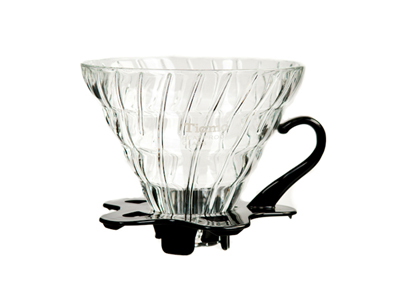 Tiamo Glass Coffee Dripper V02