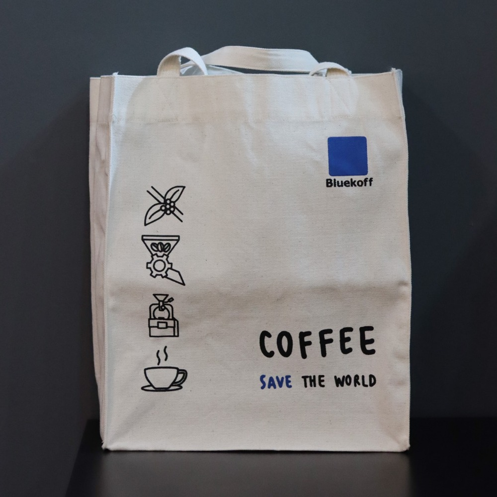 Tote Bag Bluekoff Save The World Bag